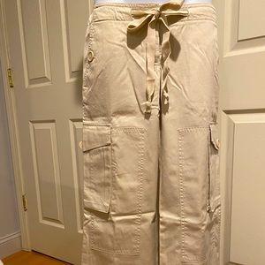 Khaki Cargo pant size 0